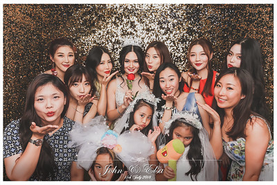Wedding of John & Elsa | © www.SRSLYPhotobooth.sg