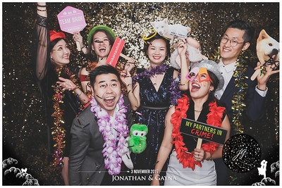 Wedding of Jonathan & Gayna | © www.SRSLYPhotobooth.sg