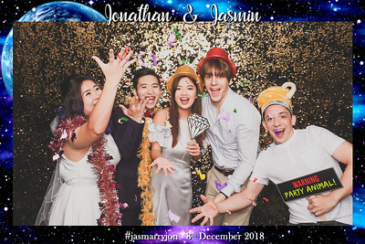 Wedding of Jonathan & Jasmin | © www.SRSLYPhotobooth.sg