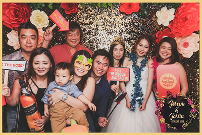 Wedding of Joseph & Jaslin | © www.SRSLYPhotobooth.sg