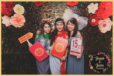 Wedding of Joseph & Jaslin | © www.SRSLYPhotobooth.sg