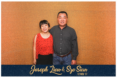 Wedding of Joseph & Sze Sian | © www.SRSLYPhotobooth.sg