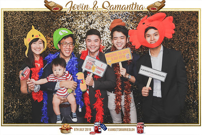 Wedding of Jovin & Samantha | © www.SRSLYPhotobooth.sg