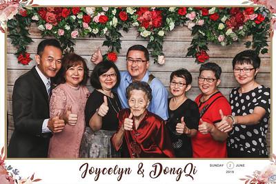 Wedding of DongQi & Joycelyn | © www.SRSLYPhotobooth.sg
