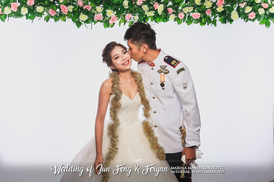 Wedding of Jun Feng & Ferynn | © www.SRSLYPhotobooth.sg
