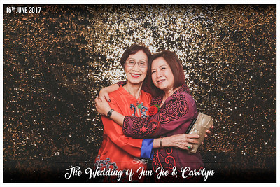The Wedding of Jun Jie & Carolyn | © www.SRSLYPhotobooth.sg
