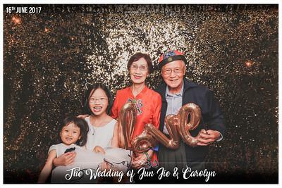 The Wedding of Jun Jie & Carolyn | © www.SRSLYPhotobooth.sg