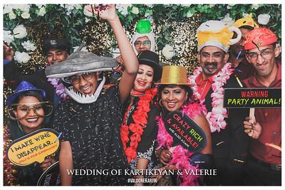 Wedding of Kartikeyan & Valerie   © www.SRSLYPhotobooth.sg
