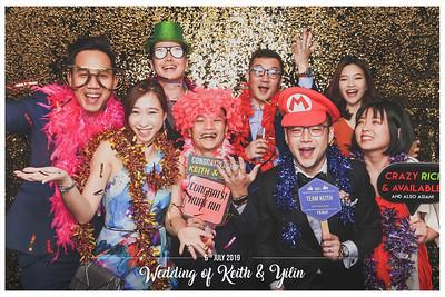 Wedding of Keith & Yilin | © www.SRSLYPhotobooth.sg