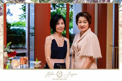 Wedding of Kelvin & Jinyuan | © SRSLYPhotobooth.sg