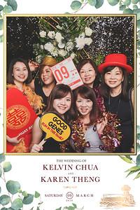 Wedding of Kelvin & Karen | © www.SRSLYPhotobooth.sg