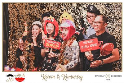 Wedding of Kelvin & Kimberley   © www.SRSLYPhotobooth.sg