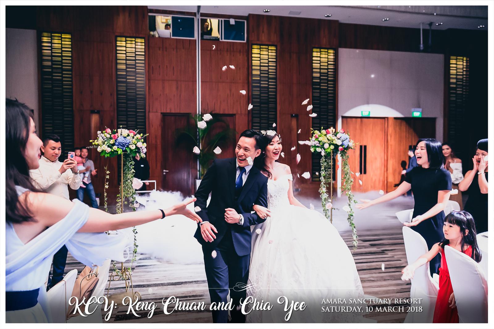 Wedding of Keng Chuan & Chia Yee | © www.SRSLYPhotobooth.sg