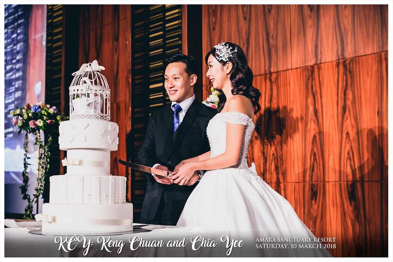 Wedding of Keng Chuan & Chia Yee   © www.SRSLYPhotobooth.sg