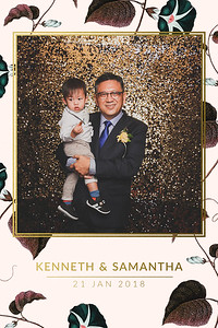 Wedding of Kenneth & Samantha | © www.SRSLYPhotobooth.sg