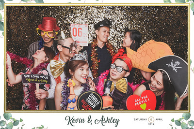 Wedding of Kevin & Ashley | © www.SRSLYPhotobooth.sg