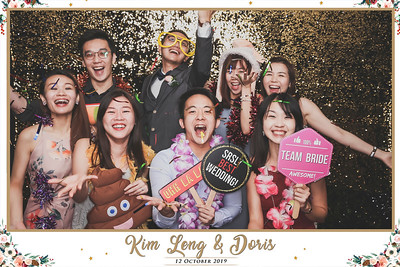 Wedding of Kim Leng & Doris | © www.SRSLYPhotobooth.sg