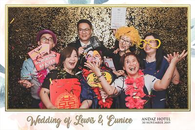 Wedding of Lewis & Eunice   © www.SRSLYPhotobooth.sg