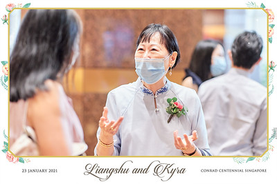 © Wedding of Liangshu & Kyra | SRSLYPhotobooth.sg