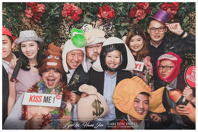 Wedding of Lijie & Hwee Jin | © www.SRSLYPhotobooth.sg