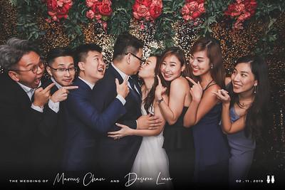 Wedding of Marcus & Desiree | © www.SRSLYPhotobooth.sg
