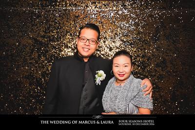 Wedding of Marcus & Laura | © SRSLYPhotobooth.sg