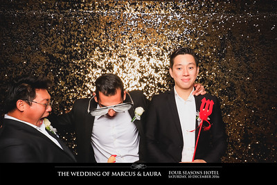 Wedding of Marcus & Laura | © SRSLYPhotobooth.sg