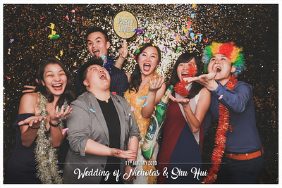 Wedding of Nicholas & Shu Hui | © www.SRSLYPhotobooth.sg