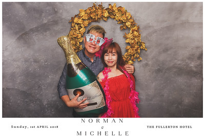 Wedding of Norman & Michelle | © www.SRSLYPhotobooth.sg