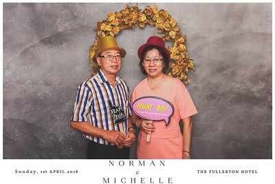 Wedding of Norman & Michelle | © www.SRSLYPhotobooth.sg