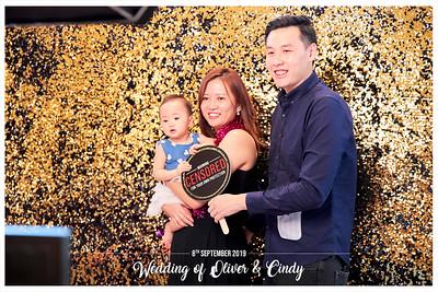 Wedding of Oliver & Cindy | © www.SRSLYPhotobooth.sg