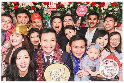 Wedding of Pang Boon & Hui Ling   © www.SRSLYPhotobooth.sg