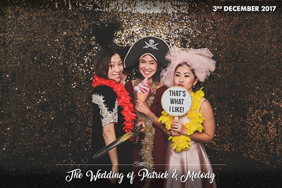 © Wedding of Patrick & Melody | © SRSLYPhotobooth.sg