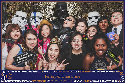 Wedding of Renny & Charlynne | © www.SRSLYPhotobooth.sg