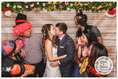 Wedding of Sean & Jessica | © SRSLYPhotobooth.sg