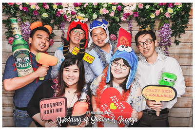 Wedding of Shawn & Jacelyn | © www.SRSLYPhotobooth.sg