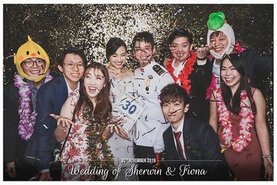Wedding of Sherwin & Fiona | © www.SRSLYPhotobooth.sg