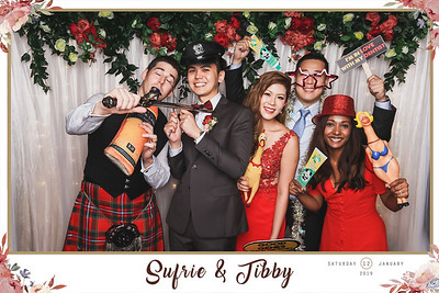 Wedding of Sufrie & Tibby | © www.SRSLYPhotobooth.sg