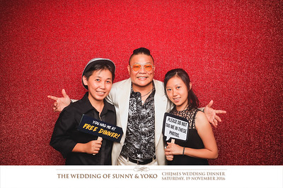 © Wedding of Sunny & Yoko | © SRSLYPhotobooth.sg
