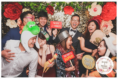Wedding of Tommy & Melissa | © www.SRSLYPhotobooth.sg