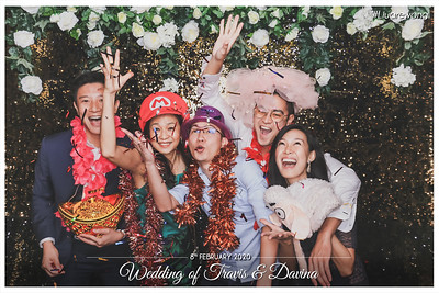 Wedding of Travis & Davina | © www.SRSLYPhotobooth.sg