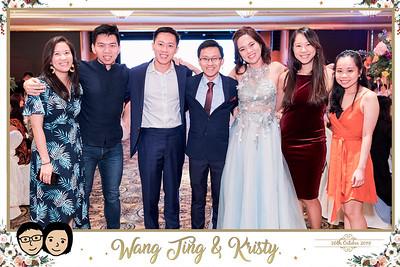 Wedding of Wang Ting & Kristy | © www.SRSLYPhotobooth.sg