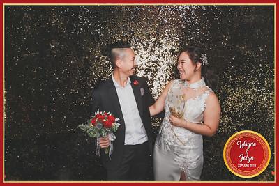 Wedding of Wayne & Jolyn | © www.SRSLYPhotobooth.sg