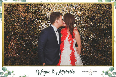 Wedding of Wayne & Michelle | © www.SRSLYPhotobooth.sg