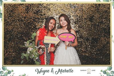 Wedding of Wayne & Michelle | © www.SRSLYPhotobooth.sg