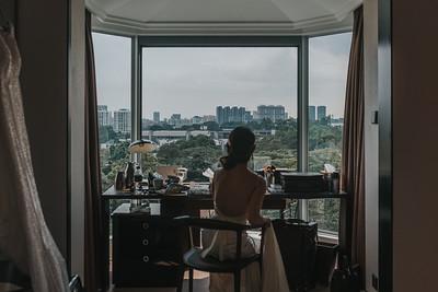 Wedding of WeKing&Kiara in Singapore. Day 2
