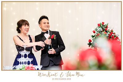 Wedding of Wee Kiat & Shu Min | © www.SRSLYPhotobooth.sg