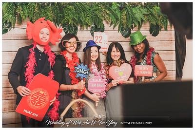 Wedding of Wei An & Tse Ying | © www.SRSLYPhotobooth.sg