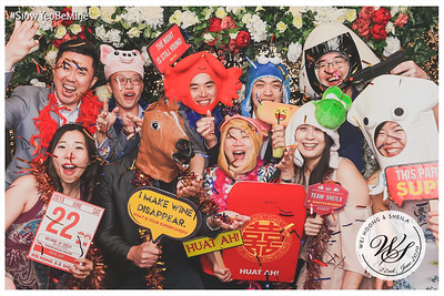 Wedding of Wei Hoong & Sheila | © www.SRSLYPhotobooth.sg