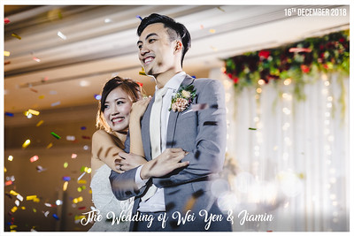 Wedding of Wei Yen & Jiamin | © www.SRSLYPhotobooth.sg